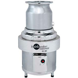 insinkerator ss-300 commercial garbage disposer only, 3 hp InSinkErator SS-300 Commercial Garbage Disposer Only, 3 HP