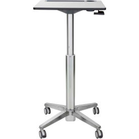 ergotron® learnfit® sit-stand mobile student desk, tall Ergotron® LearnFit® Sit-Stand Mobile Student Desk, Tall