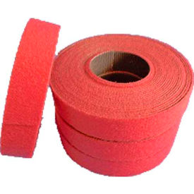 "VELCRO® Brand One-Wrap® UL Rated Fire Retardant Fasteners Cranberry 5/8"" x 15"