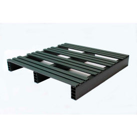 "JiFram Rackable Extruded Plastic Pallet With Two-Way Entry, 30"" x 30"", 1000 Lbs. Fork Capacity"
