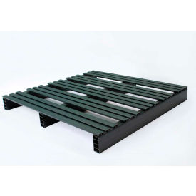 JiFram Rackable Extruded Plastic Pallet 05000224 - 36x36, Two-Way Entry, 1000 Lb. Fork Capacity
