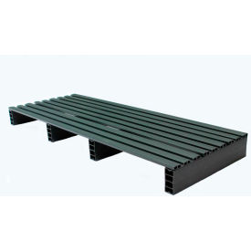 JiFram Rackable Extruded Plastic Pallet 05000235 - 48x18, Two-Way Entry, 1000 Lb. Fork Capacity