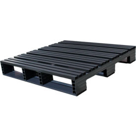 Jifram Extrusions 05000356 Plastic Pallet 42 x 42 Four-Way Entry 3000 Fork Capacity