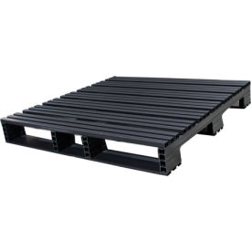 Jifram Extrusions 05000367 Plastic Pallet 48 x 48 Four-Way Entry 3000 Fork Capacity