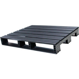 Jifram Extrusions 05000378 Plastic Pallet 48 x 40 Four-Way Entry 3000 Fork Capacity