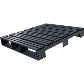 Jifram Extrusions 05000389 Plastic Pallet 48 x 42 Four-Way Entry 3000 Fork Capacity