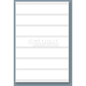 "Magic Master Replacement Face For The Standard SPG, 24"" X 36"" X 10 Mm-White Message Board"