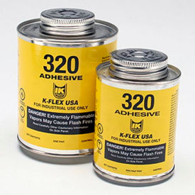 320 Contact Adhesive 1/2 Pint With Brush Top