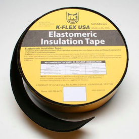 "800-EL-018 K-Flex Elastomeric Foam Tape, 1/8"" Thick X 2"" Wide X 30 Per Roll"