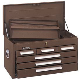 "266B Kennedy; 266B 26"" 6-Drawer Mechanics Chest - Brown"
