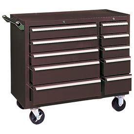 "310XB Kennedy; 310XB 39"" 10-Drawer Roller Cabinet - Brown"