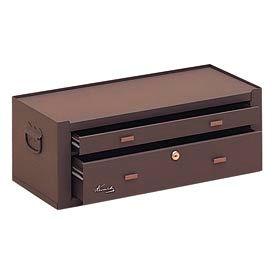 "MC22B Kennedy; MC22B 21"" 2-Drawer Machinists Chest - Brown"