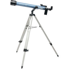 Konus 1736 Konustart-700 60mm Refractor Telescope With Carrying Case, 700mm Focal Length, Blue