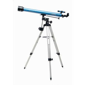 Konus 1744 Konuspace-7 60mm Refractor Telescope With Metal Tripod, 900mm Focal Length, Blue