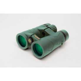 Konus 2342 Emperor Open Hinge 10x42mm Binoculars, Waterproof, Phase Corrected, Bak-4, Green