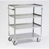 333 Lakeside; 333 Stainless Steel Linen Service Cart,  300 lbs. Capacity