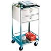 358 Lakeside; 358 Stainless Steel Equipment Stand, 2 Shelves, 2 Drawers, 300 lb. Capacity
