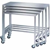 8381 Lakeside; 8381 Stainless Steel Nesting Table 32 x 16 x 34
