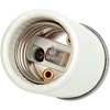 10049 Leviton 10049 Medium Base, Incandescent, Glazed Porcelain Lampholder, White