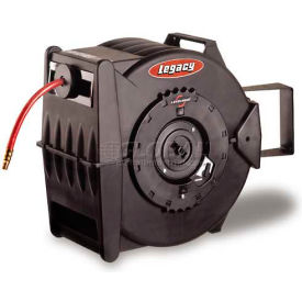 "L8310 Legacy; L8310 3/8""x 100 350 PSI Enclosed Chassis Spring Retractable Composite Hose Reel"