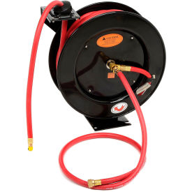 "L8611 Legacy; L8611 Workforce 3/8""x50 300 PSI Spring Retractable Low Pressure Steel Hose Reel"