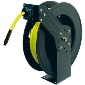 "L8611FZ Legacy; L8611FZ 3/8""x50 300 PSI Spring Retractable Steel Air Hose Reel W/ Flexzilla Hose"