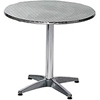 LR24RDCMX Premier Hospitality Round 24 Inch Stainless Steel Table