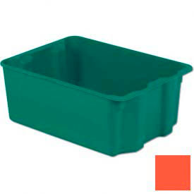 SN2217-10-RD LEWISBins Plexton; SN2217-10 Fiberglass Stack-N-Nest Container, 25-5/16 x 18-1/8 x 10-1/8 Red