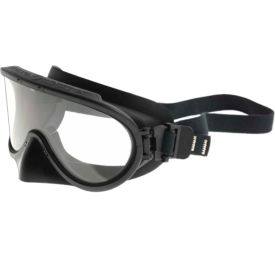 paulson a-tac® structural firefighter goggles, nose guard, elastic strap, apec lens