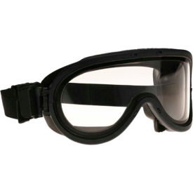 paulson a-tac® frag goggles transparent polycarbonate triple lens, anti-fog, 510-tf