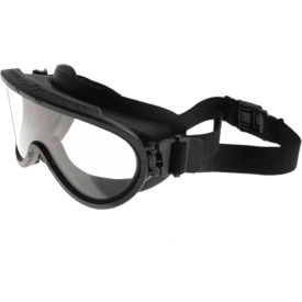 paulson a-tac® wildland firefighter goggles w/ quick release elastic strap & polycarbonate lens