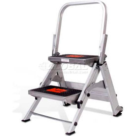 10210BA Little Giant; Safety Aluminum Step Ladder - 2 Step - 10210BA