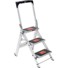 10310BA Little Giant; Safety Aluminum Step Ladder - 3 Step - 10310BA