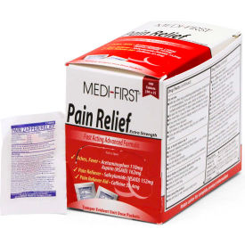 81133 Medi-First; Pain Relief, 100 Tablets, 81133