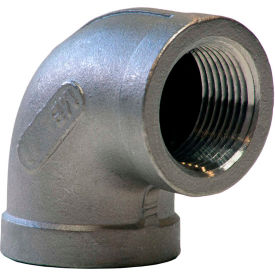 K401-08 1/2 In. 304 Stainless Steel 90 Degree Elbow - FNPT - Class 150 - 300 PSI - Import