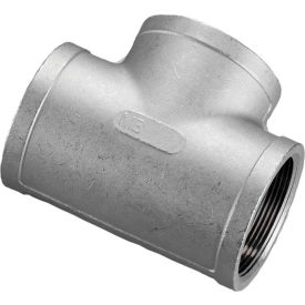 K406-32 2 In. 304 Stainless Steel Tee - FNPT - Class 150 - 300 PSI - Import