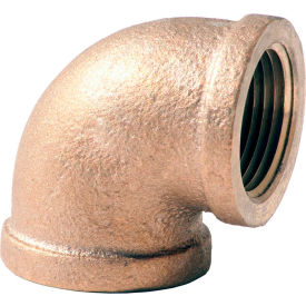 XNL101-32 2 In. Lead Free Brass 90 Degree Elbow - FNPT - 125 PSI - Import