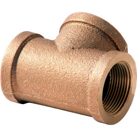 XNL106-24 1-1/2 In. Lead Free Brass Tee - FNPT - 125 PSI - Import