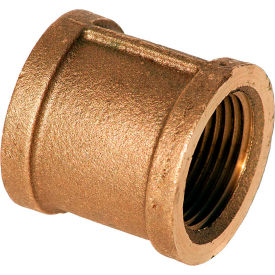 XNL111-20 1-1/4 In. Lead Free Brass Coupling - FNPT - 125 PSI - Import