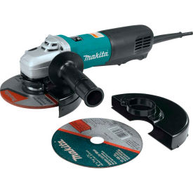 "9566PCX1 Makita 9566PCX1 6"" SJS HighPower Paddle Switch Cut-Off Angle Grinder Extra Cut-Off Wheel & Guard"