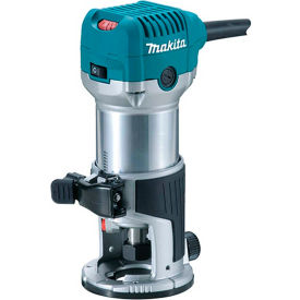 RT0701C Makita; RT0701C 1-1/4 HP Compact Router, Fixed base, 10,000-30,000 RPM, var. spd.