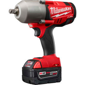 "2767-22  Milwaukee 2767-22 M18 FUEL 1/2"" High Torque Impact Wrench W/ Ring Kit"