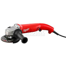 "6124-30 Milwaukee; 6124-30 6"" Trigger Grip Lock-On Small Angle Grinder"