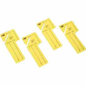 "201300212 MMF ""Out Key"" Control Tags 201300212 - Yellow, Pack of 24 Tags"