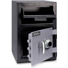 "MFL2014C Mesa Safe B-Rate Depository Safe MFL2014C Front Loading, Manual Combo Lock, 14""W x 14""D x 20-1/4""H"
