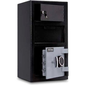 MFL2014E-OLK Mesa Safe B-Rate Depository Safe MFL2014E-OLK Front Loading Digital Lock-Keyed Exterior,14x14x27-1/4