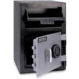 "MFL2014E Mesa Safe B-Rate Depository Safe MFL2014E Front Loading, Digital Lock, 14""W x 14""D x 20-1/4""H"