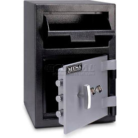 "MFL2014K Mesa Safe B-Rate Depository Safe MFL2014K Front Loading, Dual Key Lock, 14""W x 14""D x 20-1/4""H"