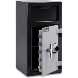 "MFL2714C Mesa Safe B-Rate Depository Safe MFL2714C Front Loading, Manual Combo Lock, 14""W x 14""D x 27-1/4""H"