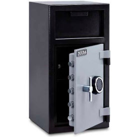 MFL2714E-ILK Mesa Safe B-Rate Depository Safe MFL2714E-ILK Front Loading Digital Lock-Keyed Interior,14x14x27-1/4